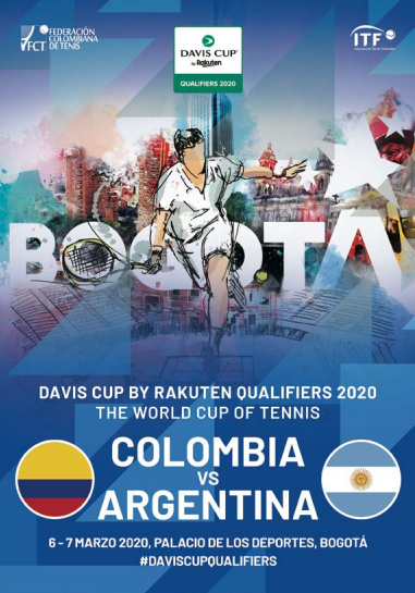 Revista Copa Davis - Colombia vs Argentina 2020