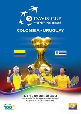 Revista Copa Davis - Colombia vs Uruguay 2013